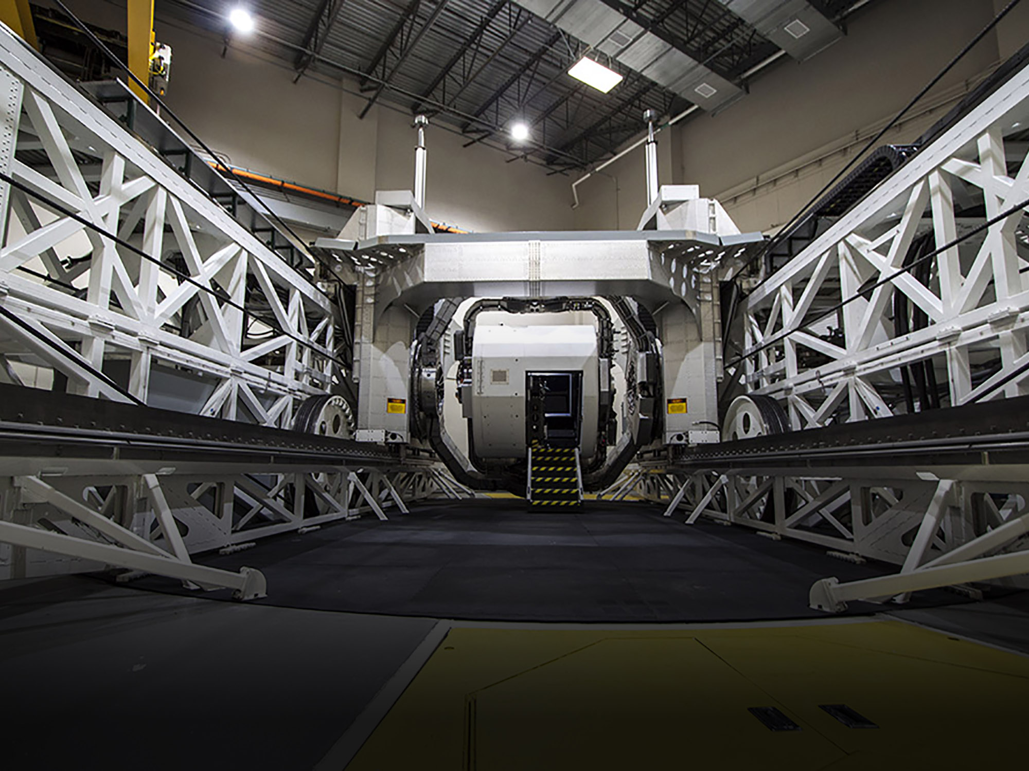 KRAKEN Advanced Spatial Disorientation Trainer at Wright-Patterson Air Force Base