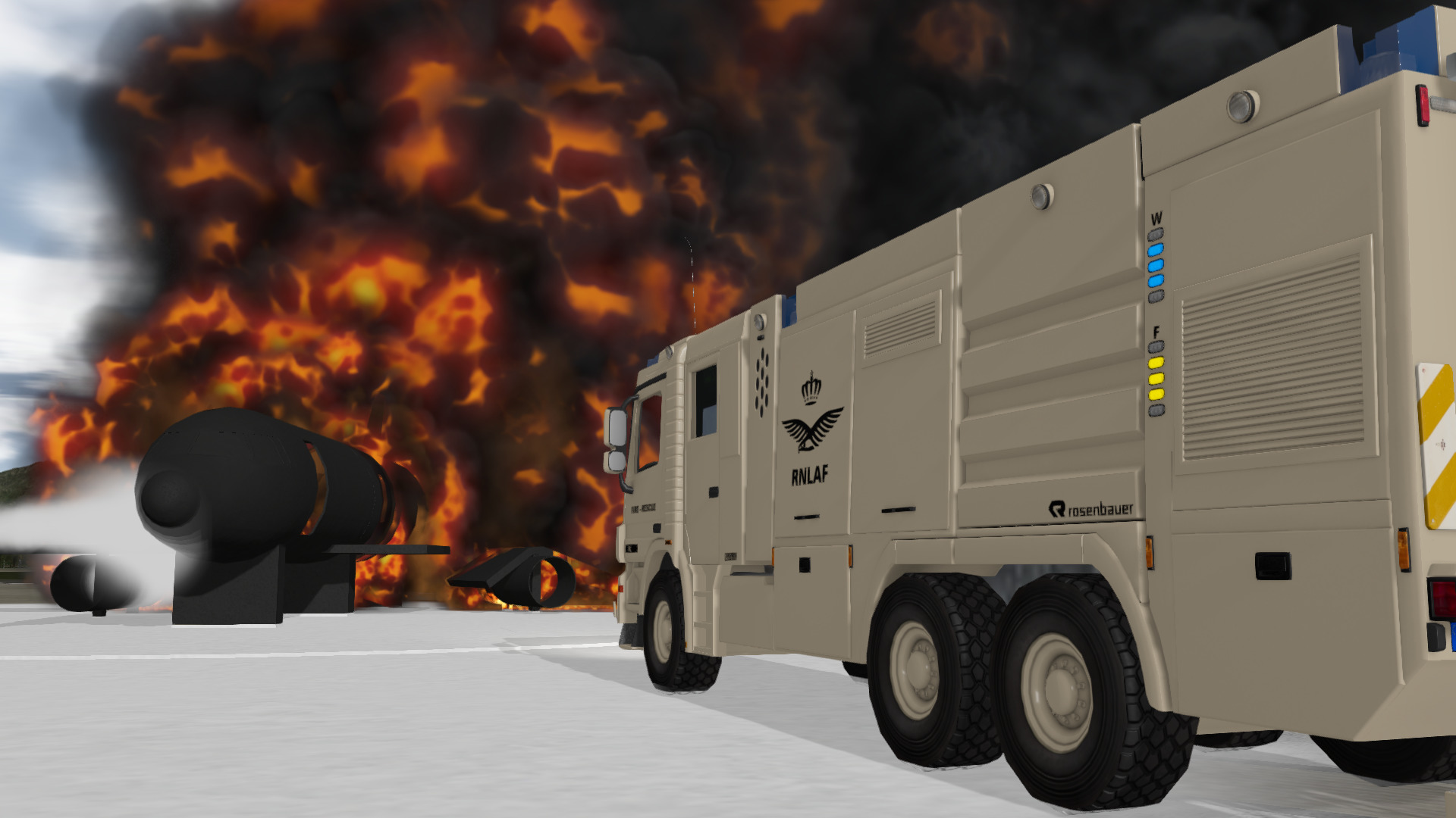 ARFF Simulator Training