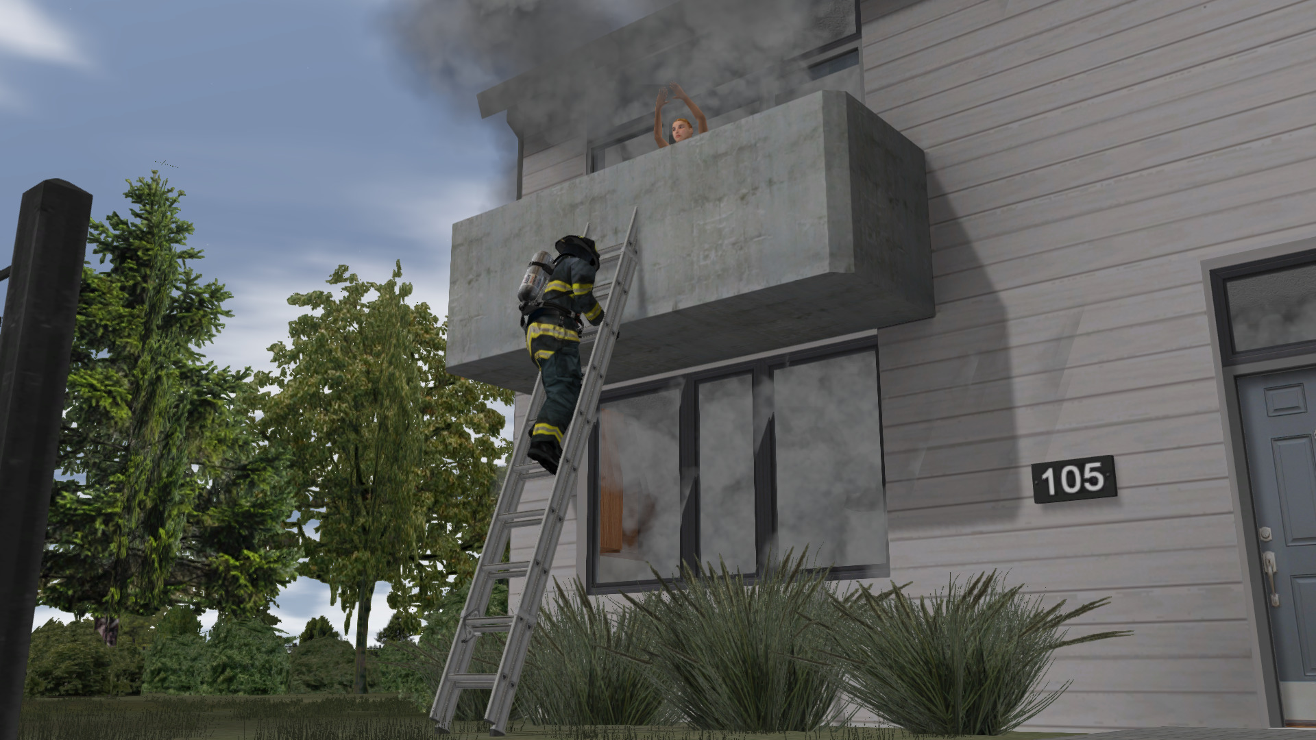 ADMS Fire Training Interior Fires