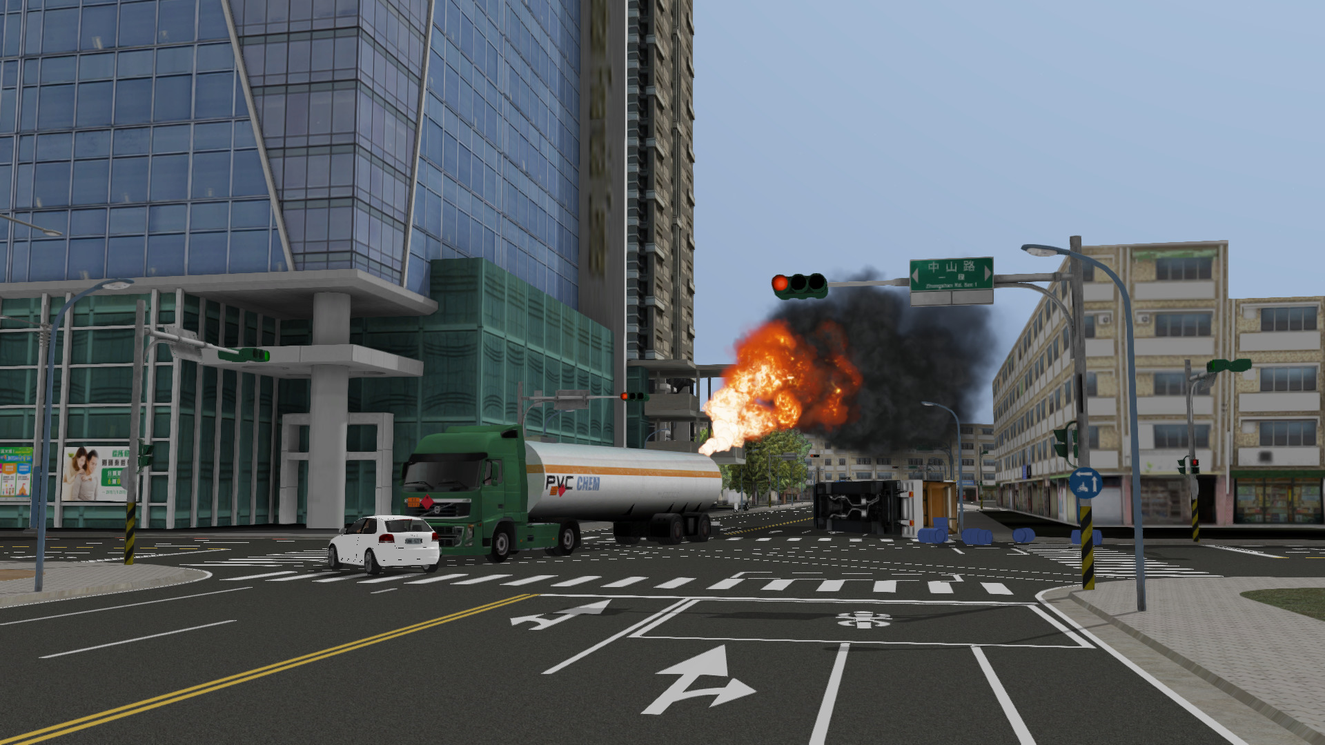 ADMS Fire Training User Created Scenarios